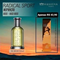 Radical Sport inspirado no Hugo BOSS