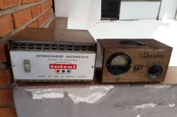 Estabilizador Antigo, funcionando normal... Produto para colecionador