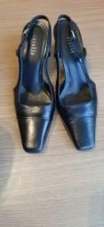 Sapato Corello Couro Preto n° 36