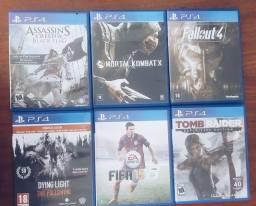 Jogos PS4 Playstation 4
