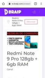 Redmi note 9pro 128 gb