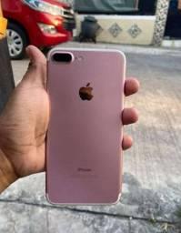Iphone 7plus 128gigas rose