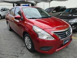 Nissan Versa 1.6 S Flex, Completo, Couro Caramelo, Ipva 2021 Pago