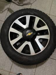 Título do anúncio: Roda Spin Active Zero e PNEU Pirelli Scorpion 205/60 R 16 Zero