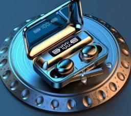 Fones TWS Bluetooth V9-8 + Caixa de carregamento de 2200 mAh