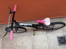 Bicicleta juvenil menina