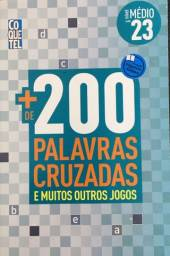 Título do anúncio: Livro + de 200 palavras cruzadas