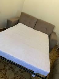 Sofá cama com colchão