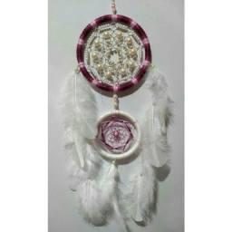 Filtros dos Sonhos, brincos e colares artesanais