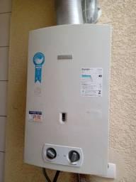 Título do anúncio: Aquecedor de água à gás Bosch GWH 325 GLP