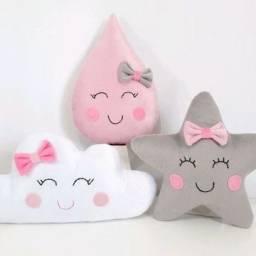 Almofadas de bebê
