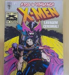 Revistas em quadrinhos dos X-MEN, de 1975 até 1989