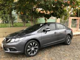 Vendo Honda Civic LXR 2.0 Cinza 2015/2016