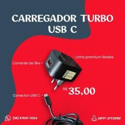 CARREGADOR TURBO 18W