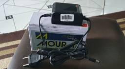 Título do anúncio: Fonte bivolt 12v 2a com bateria pra falta energia