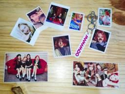 Kit Kpop Photocards + Chaveiro + Polaroids