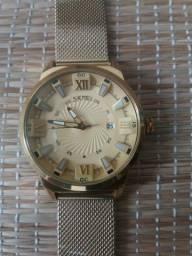 Relógio Feminino Curren dourado
