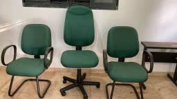 Título do anúncio: Cadeiras/escritório