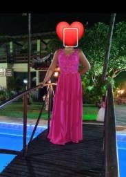 Vestido de festa Pink - madrinha ou formanda