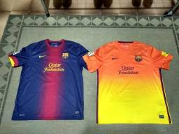 Camisas do Barcelona Home e Away 2013-2014 (torcedor) 761bd2ff25735
