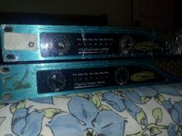 Amplificador APD 3200 E APD 7000