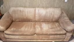 Vendo sofá de 2 e 4 lugares
