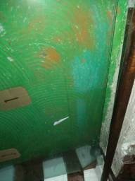 Linda porta blindex pivotante incolor barato!