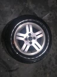 Rodas + pneus aro 14