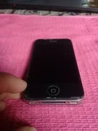 Iphone 4s com carregador ih capinha .