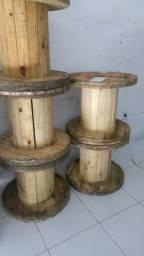 Vendo Carreteis de madeira