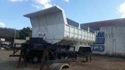 Caçamba 15 metros caminhão truck