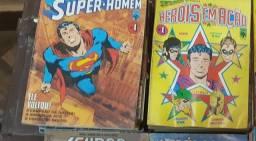 Super Homem e Heróis em ação 1ª edição
