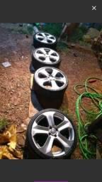 Rodas 18 c/ 4 Furos da BMW. X 6