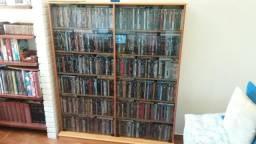 Porta DVD ou Blu-Ray com 500 filmes