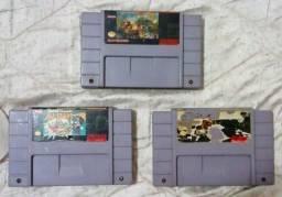 Cartuchos Nintendo 64 e Super Nintendo