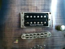 Guitarra Cort Kx custom captação Seymour Duncan