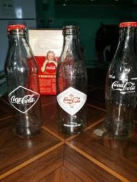 Garrafas históricas Coca Cola