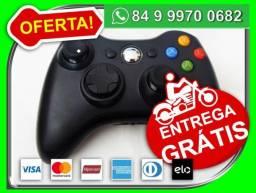 Controle Wireless Xbox 360 Joystick Preto Lacrado Original - Novo - Entrega Grátis