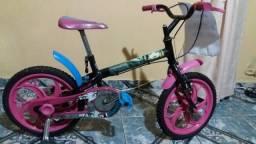 Bicicleta aro 16 Monster High