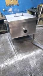 Caixa de gordura esgoto aço inox