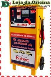 Carregador de Bateria 15V 50A com Auxiliar de Partida 70A/h - KITEC-CK-12A50