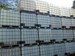 Containers Contêineres de 1.000L usado no estado ou lavados/higienizados