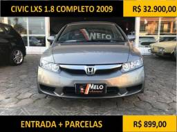 Civic LXS 1.8 Completo 2009 - 2009