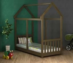 Cama Infantil Montessori Madeira Maciça