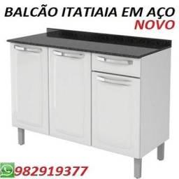 Preço Super Especial Balcão Itatiaia Em Aço Novo na Caixa Apenas 499,00