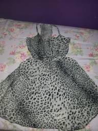 Vestido de oncinha