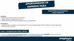 Promotora de Atendimento - Castro / PR