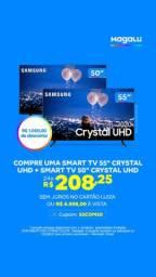 Smart TV 50P 4K Crystal Samsung Lacrada na Caixa