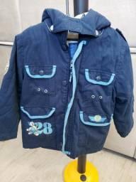 Jaqueta Azul Mickey - Tam 3