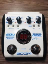 Pedaleira Zoom G2E com fonte